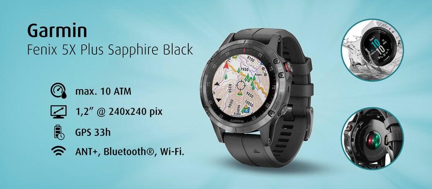 Garmin 5X Plus Sapphire Black