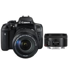 Canon EOS 750D + EF-S 18-135 IS STM + EF 50 f1,8