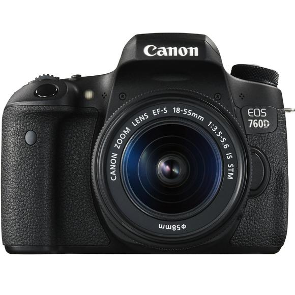 Canon EOS 760D + 18-55 IS STM + 55-250 IS STM  - 1