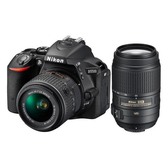 Nikon D5500 + 18-55 AF-P VR + 55-300 AF-S DX VR  - 1