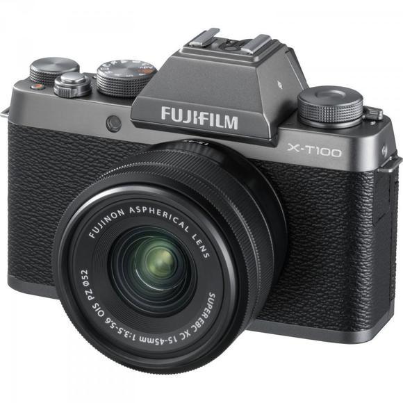Fujifilm X-T100 srebrny + XC 15-45mm f/3.5-5.6 OIS PZ  - 1