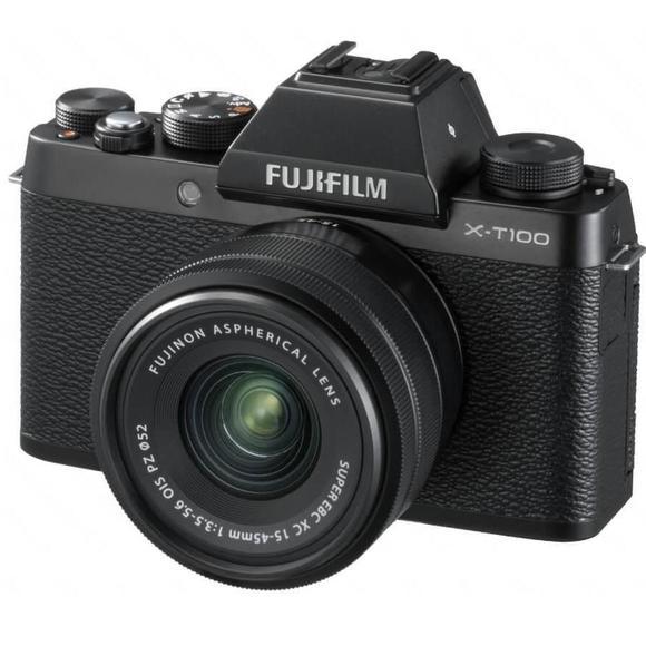 Fujifilm X-T100 czarny + XC 15-45mm f/3.5-5.6 OIS PZ  - 1