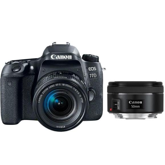Canon EOS 77D + EF-S 18-55 IS STM + EF 50 f/1,8  - 1