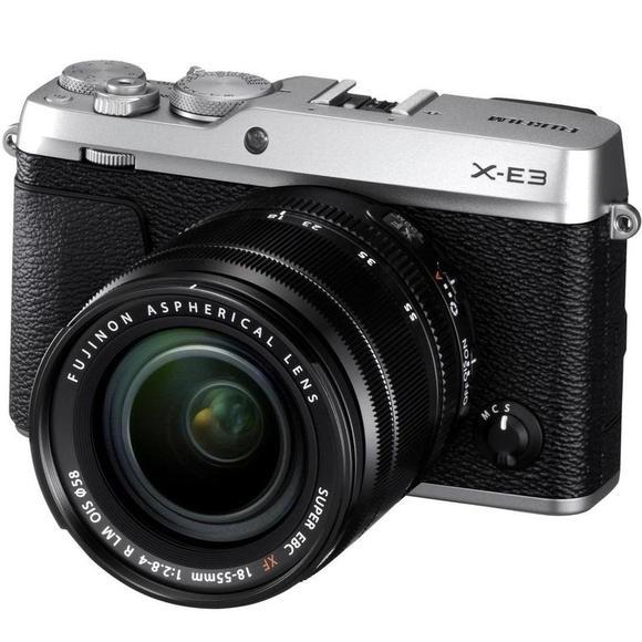 Fujifilm X-E3 + XF 18-55  srebrny  - 1