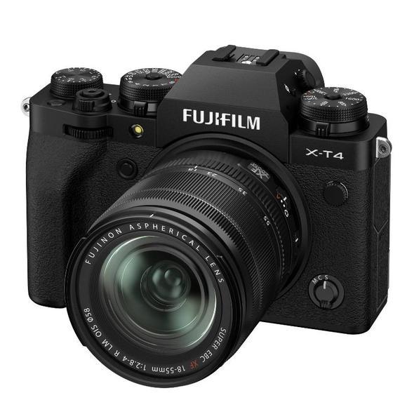 Fujifilm X-T4 + XF 18-55 mm f/2,8-4 OIS, Black  - 1