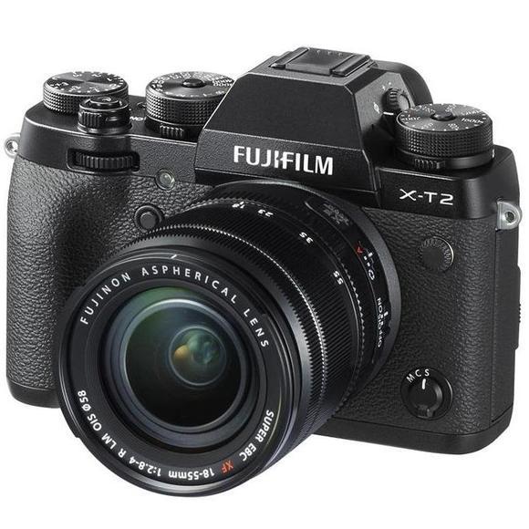 Fujifilm X-T2 + 18-55 mm czarny  - 1