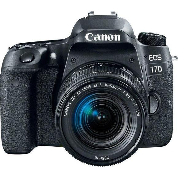 Canon EOS 77D + EF-S 18-55 IS STM + 55-250mm IS STM  - 1