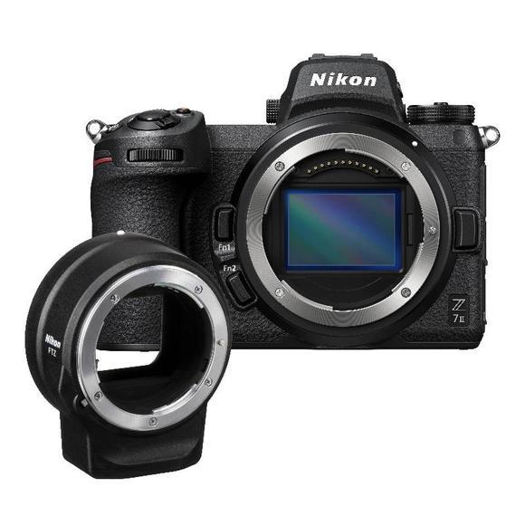 Nikon Z7 II + FTZ adapter  - 1