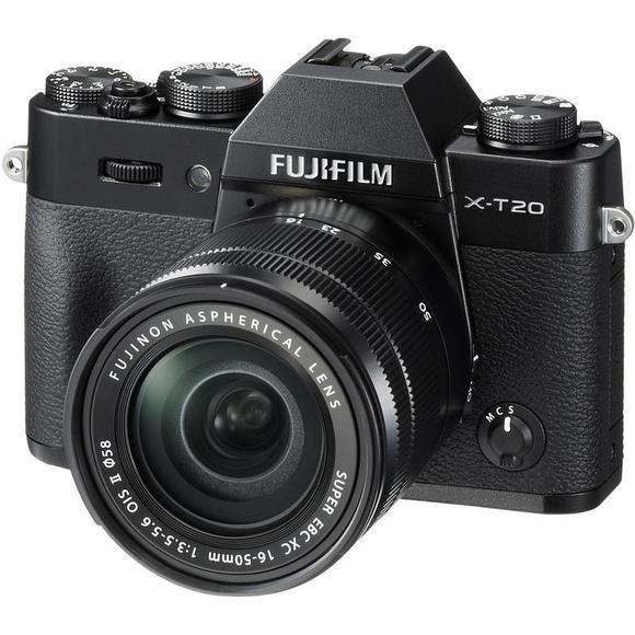 Fujifilm X-T20 czarny + 16-50 mm II  - 1